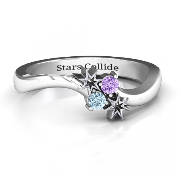 Personalised Light Up My Life Ring - Handcrafted By Name My Rings™