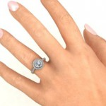 Personalised Circles of Love Ring - Handcrafted By Name My Rings™
