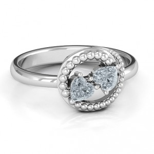 Personalised Timeless Love Ring - Handcrafted By Name My Rings™